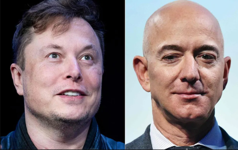 Musk and Bezos compete for space over their satellite constellations