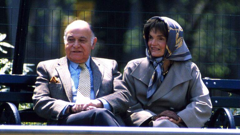 Jackie Kennedy's last and longest love