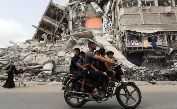 Biden Pledges to lead the reconstruction of Gaza with the UN