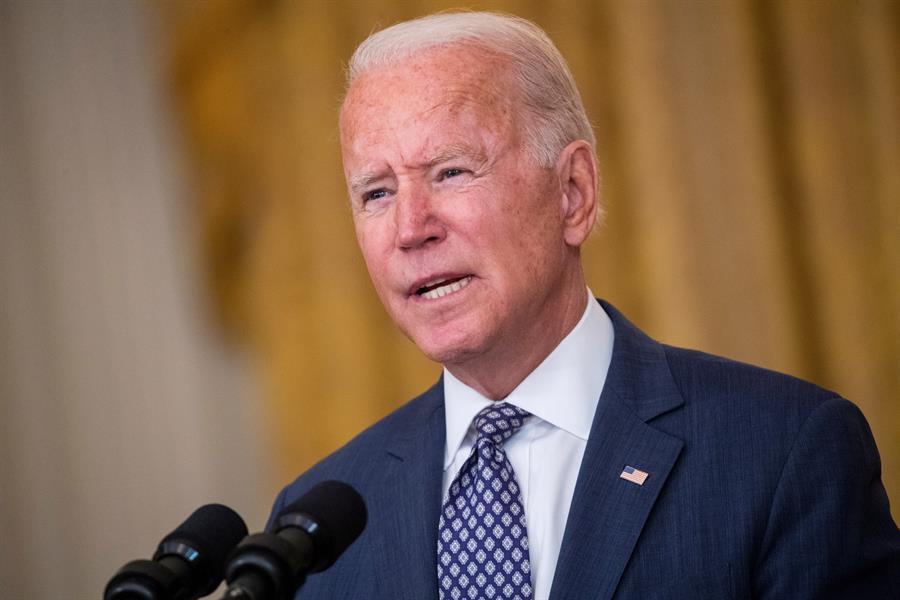 Biden declares